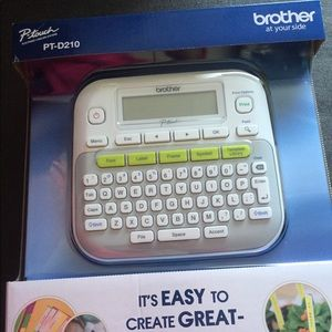 Other - NEW Brother Label Maker PT-D210